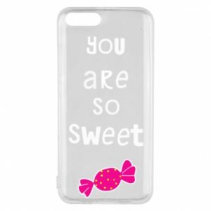Phone case for Xiaomi Mi6 You are so sweet - PrintSalon