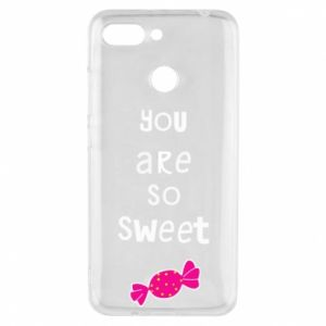 Phone case for Xiaomi Redmi 6 You are so sweet