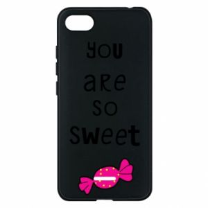 Phone case for Xiaomi Redmi 6A You are so sweet - PrintSalon