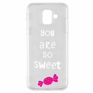 Etui na Samsung A6 2018 You are so sweet - PrintSalon