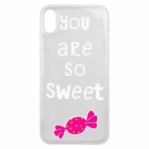 Phone case for iPhone Xs Max You are so sweet