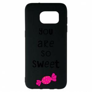 Etui na Samsung S7 EDGE You are so sweet