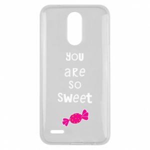 Lg K10 2017 Case You are so sweet