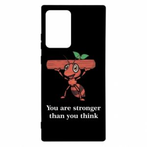 Samsung Note 20 Ultra Case You are stronger than you think