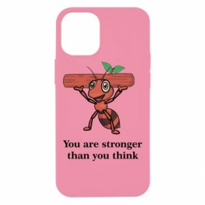 iPhone 12 Mini Case You are stronger than you think