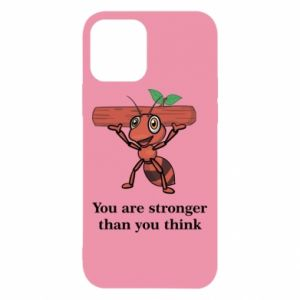 iPhone 12/12 Pro Case You are stronger than you think