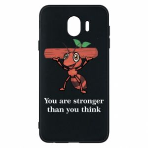 Etui na Samsung J4 You are stronger than you think