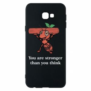 Etui na Samsung J4 Plus 2018 You are stronger than you think