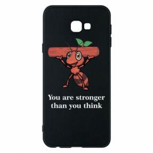 Etui na Samsung J4 Plus 2018 You are stronger than you think - PrintSalon