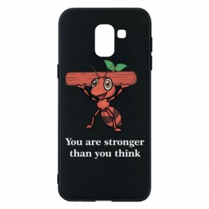 Etui na Samsung J6 You are stronger than you think