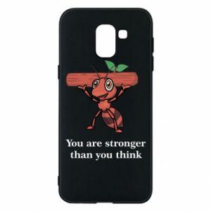 Etui na Samsung J6 You are stronger than you think - PrintSalon