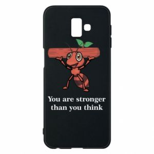 Etui na Samsung J6 Plus 2018 You are stronger than you think