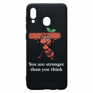 Etui na Samsung A30 You are stronger than you think