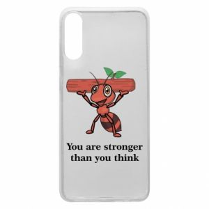 Etui na Samsung A70 You are stronger than you think