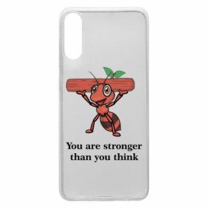 Etui na Samsung A70 You are stronger than you think - PrintSalon