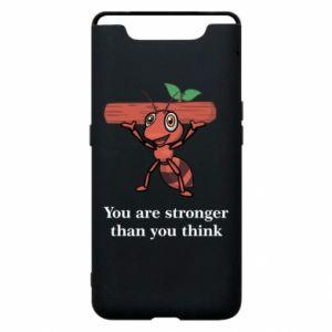 Etui na Samsung A80 You are stronger than you think - PrintSalon
