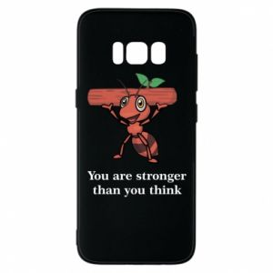 Etui na Samsung S8 You are stronger than you think - PrintSalon
