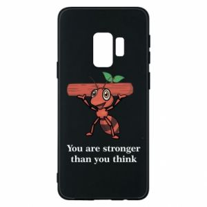 Etui na Samsung S9 You are stronger than you think - PrintSalon