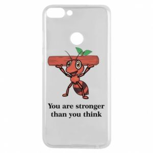 Etui na Huawei P Smart You are stronger than you think
