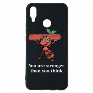 Etui na Huawei P Smart Plus You are stronger than you think