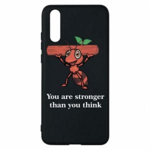 Etui na Huawei P20 You are stronger than you think