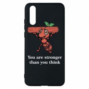 Etui na Huawei P20 You are stronger than you think - PrintSalon