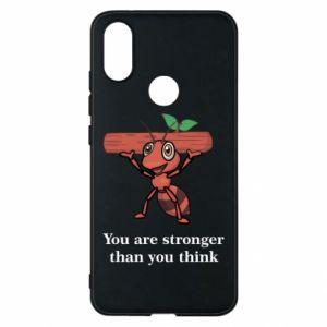 Etui na Xiaomi Mi A2 You are stronger than you think - PrintSalon