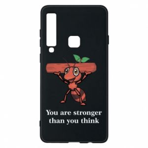 Etui na Samsung A9 2018 You are stronger than you think