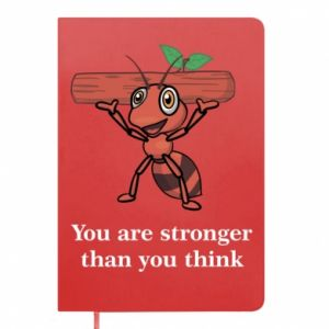 Notes You are stronger than you think