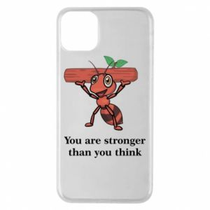Etui na iPhone 11 Pro Max You are stronger than you think - PrintSalon