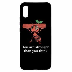 Xiaomi Redmi 9a Case You are stronger than you think