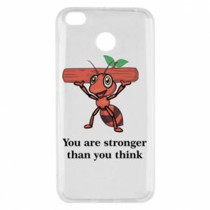 Xiaomi Redmi 4X Case You are stronger than you think