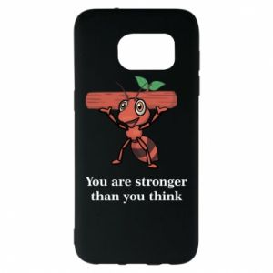Samsung S7 EDGE Case You are stronger than you think