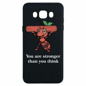 Samsung J7 2016 Case You are stronger than you think
