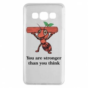 Samsung A3 2015 Case You are stronger than you think