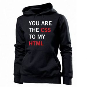 Women's hoodies You are the css