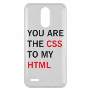 Lg K10 2017 Case You are the css