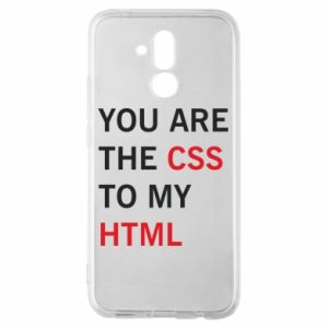 Huawei Mate 20Lite Case You are the css