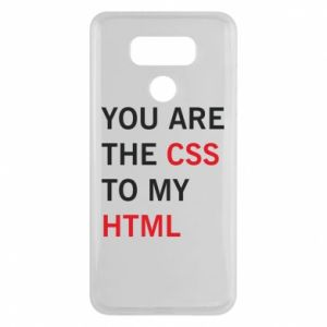 LG G6 Case You are the css