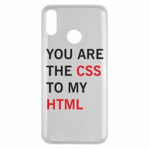 Huawei Y9 2019 Case You are the css