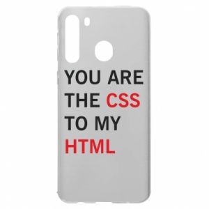 Samsung A21 Case You are the css