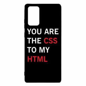 Samsung Note 20 Case You are the css