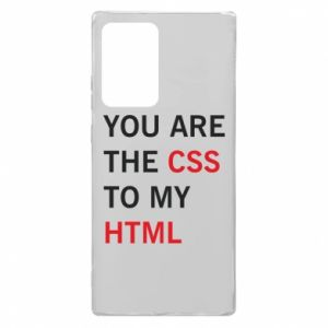Samsung Note 20 Ultra Case You are the css