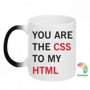 Chameleon mugs You are the css