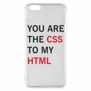 Etui na iPhone 6 Plus/6S Plus You are the css