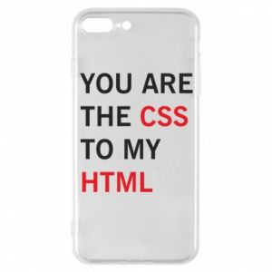 iPhone 7 Plus case You are the css