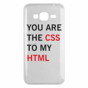 Etui na Samsung J3 2016 You are the css