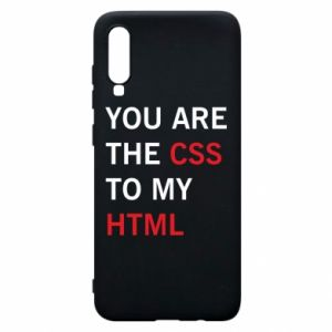 Etui na Samsung A70 You are the css