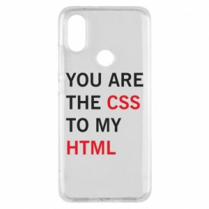 Etui na Xiaomi Mi A2 You are the css
