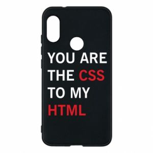 Etui na Mi A2 Lite You are the css